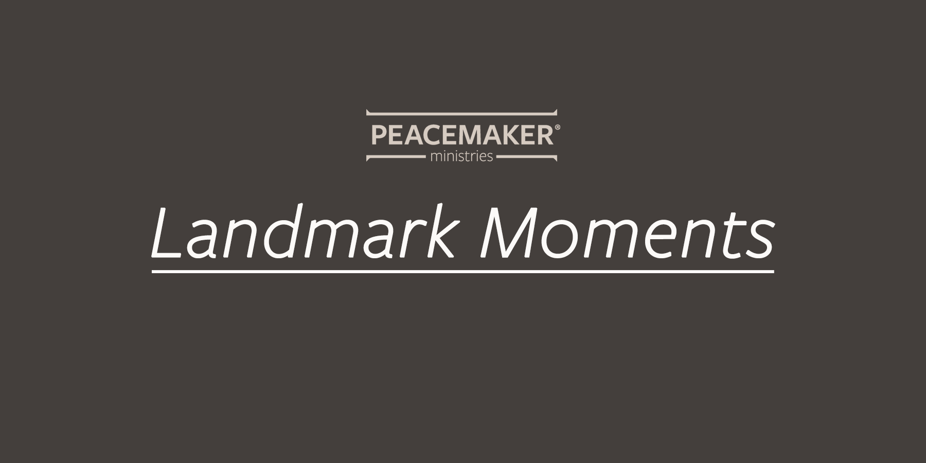 landmark moments